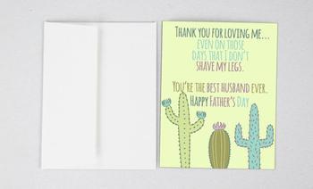 Vaderdag de meest originele kaarten om aan je partner te geven