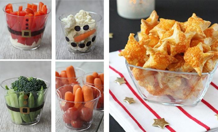 Hapjes feestdagen aperitief