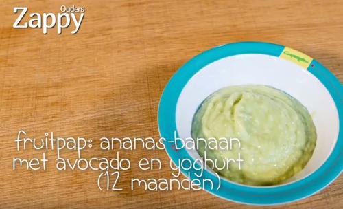 recept fruitpap
