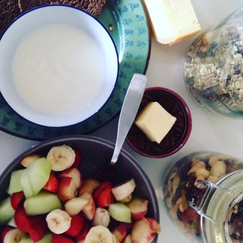 Goed ontbijt na zwangerschap