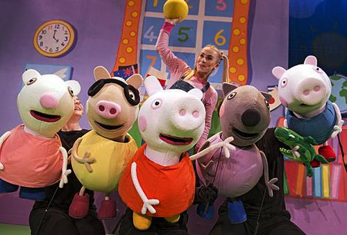 Peppa Pig kerst De grote Plons