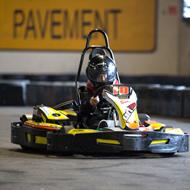 Vaderdagrace in de Kartfabrique in Utrecht