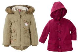 Meisjes-winterjassen