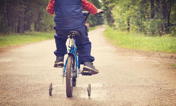 apprendre à rouler à vélo