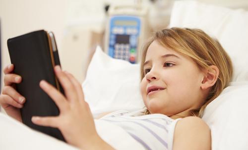 Tablet heeft kalmerend effect op kinderen