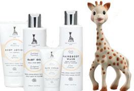 Sophie de giraf verzorgingslijn