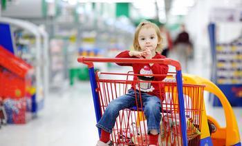 Non, on ne fait pas de shopping avec un enfant