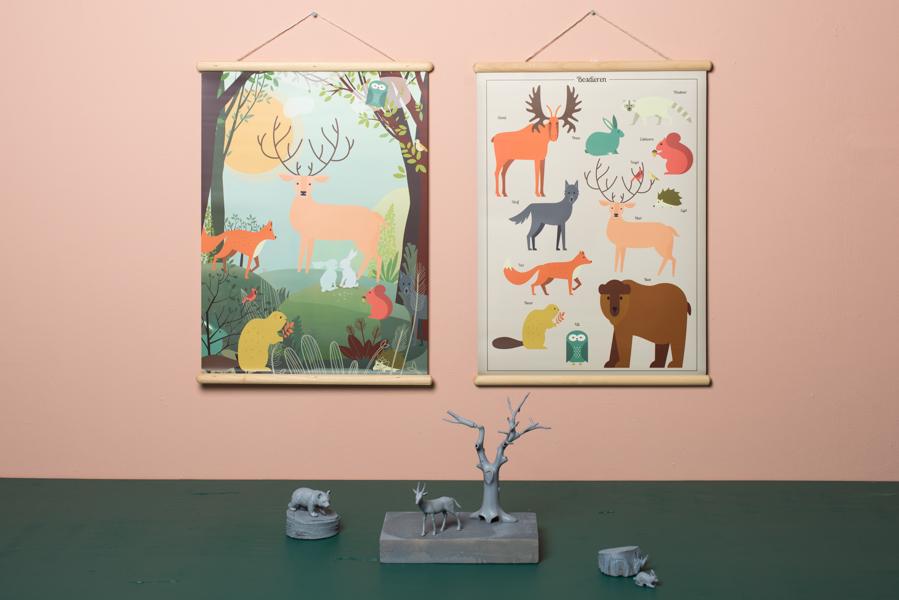 schoolplaten - unicorns & fairytales