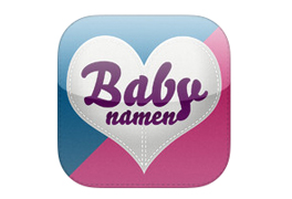 Babynamen app voor iphone en android