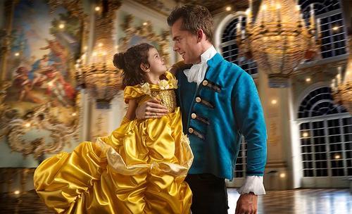 Fotoshoot Belle en het Beest Disney