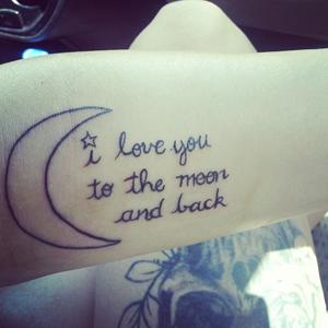 Tattoo spreuk