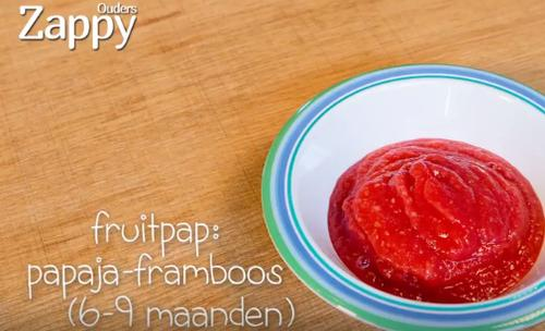 fruitpap tropical rumba recept