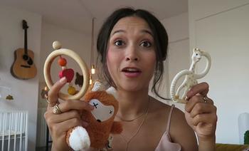 Zwangerschapsdagboek - Baby's eerste speelgoed
