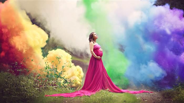 regenboog-fotoshoot