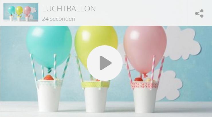 Kindertraktatie: luchtballonnen