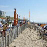 Vooges Strand in Zandvoort