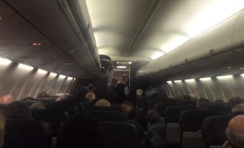 vliegtuig bevalling