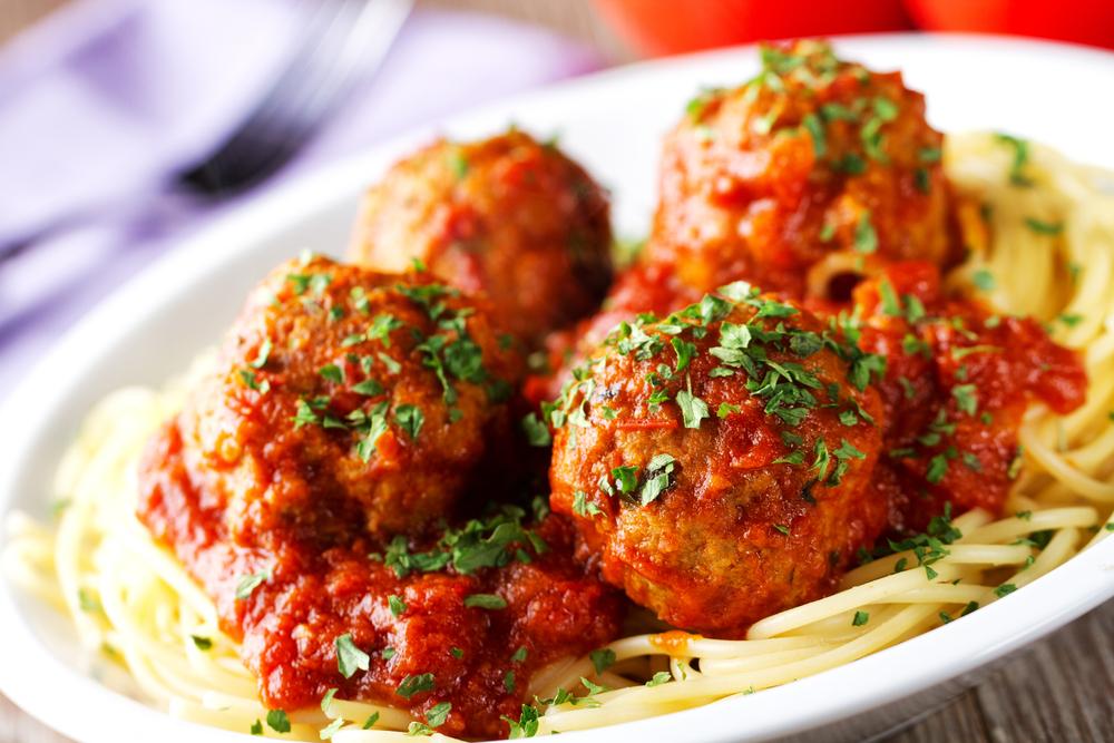 verstopte groente: gehaktballetjes
