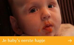 Hero baby: eerste hapje