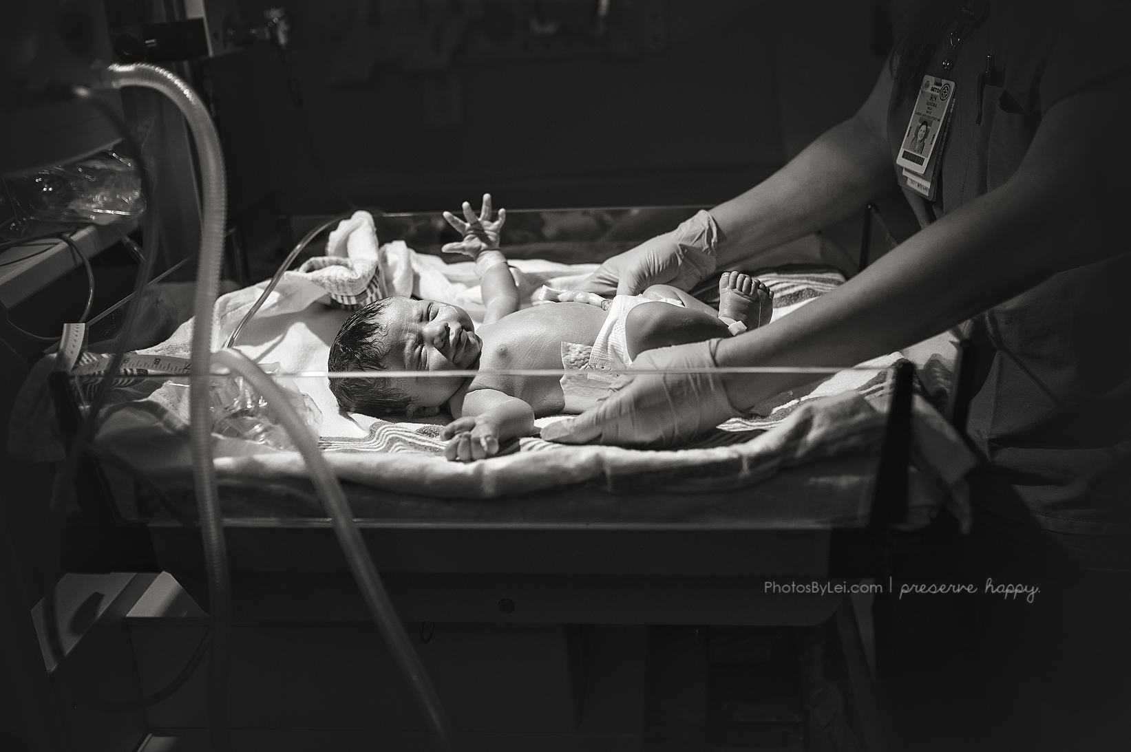 healthy newborn baby