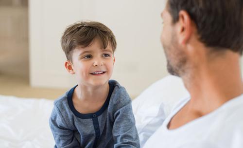 kind verleiden tot leuk gesprek