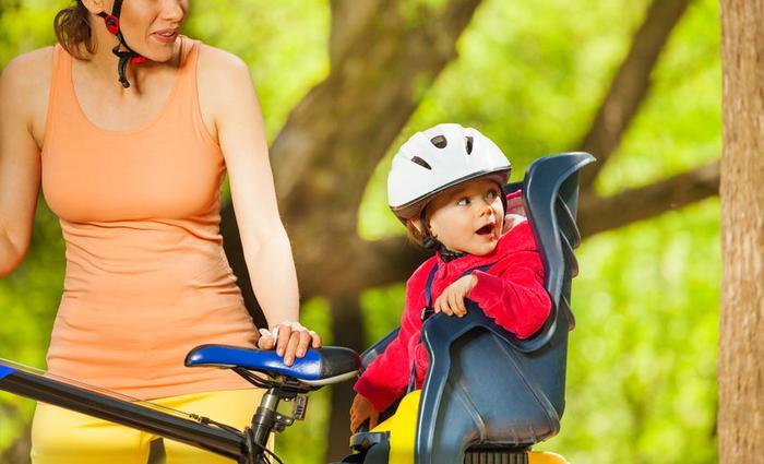 Faire du vélo avec ses bambins