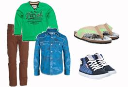 Jongenskleding en jongensschoenen