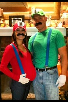 Koppelkostuum Mario