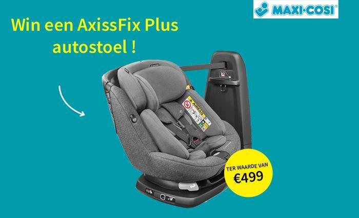 Win een autostoel AxissFix Plus van Maxi Cosi