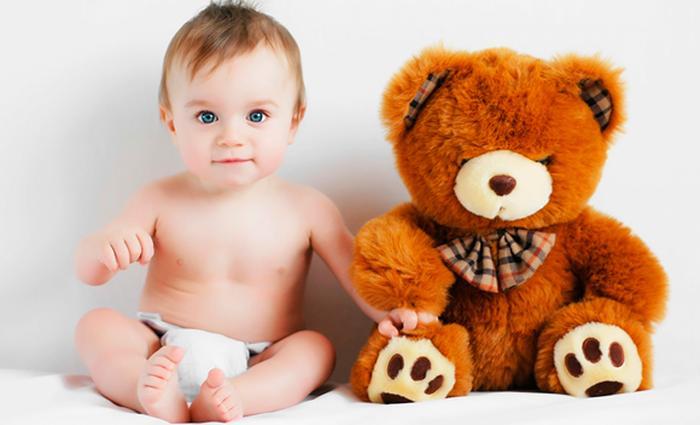 Baby 8 maanden: de eerste woordjes