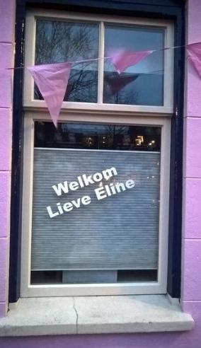 roze huis Eline
