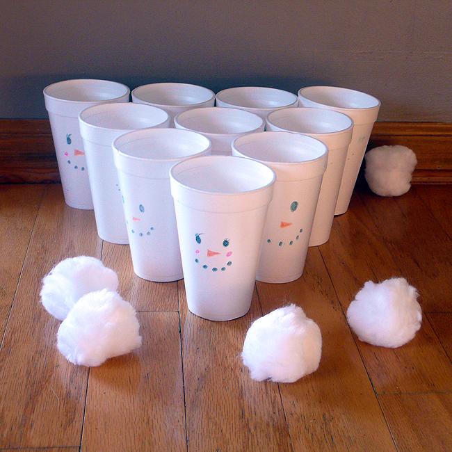 sneeuwman-gooien