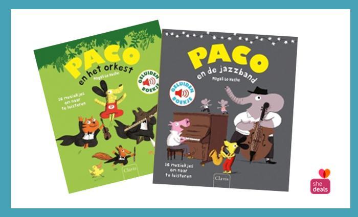 Paco geluidenboekjes Clavis via Shedeals