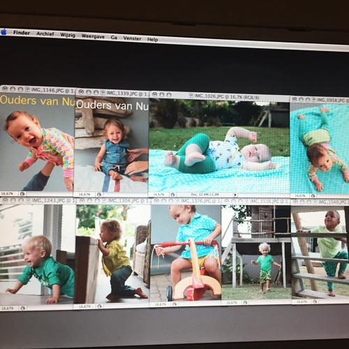 Dit is het resultaat. Heel veel foto's van heel veel lieve, mooie kinderen.