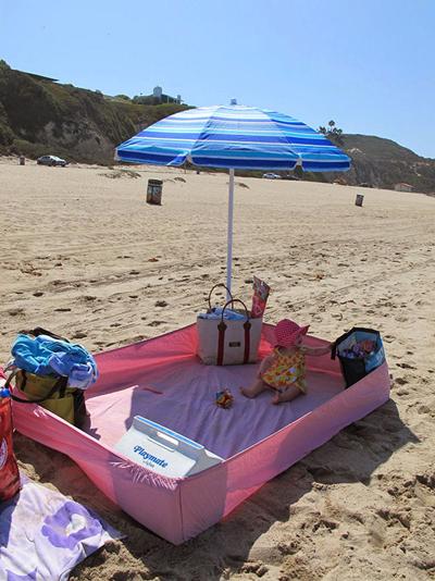 Voorkom zand tussen je spullen met hoeslaken