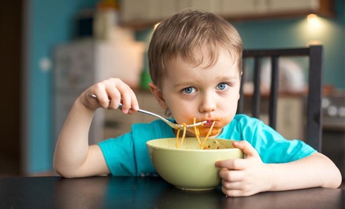 Kind wil geen warm eten
