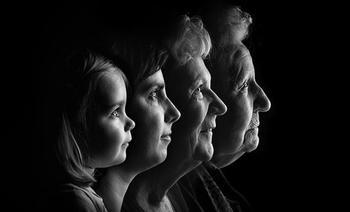 familieportret vier generaties