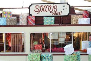 Varen met de boot van Sinterklaas