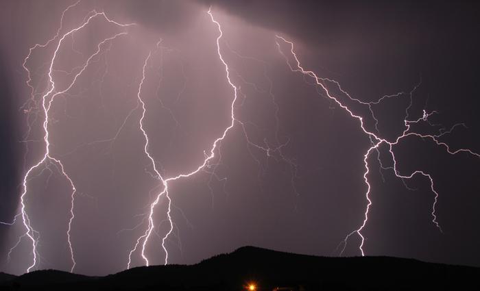 bang onweer storm