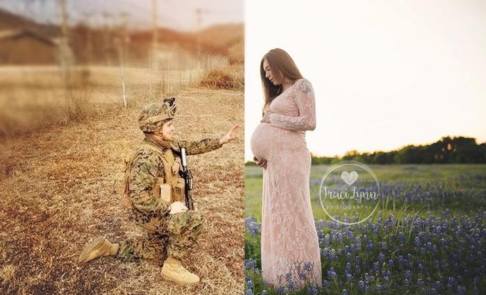 Quand Photoshop réunit deux futurs parents