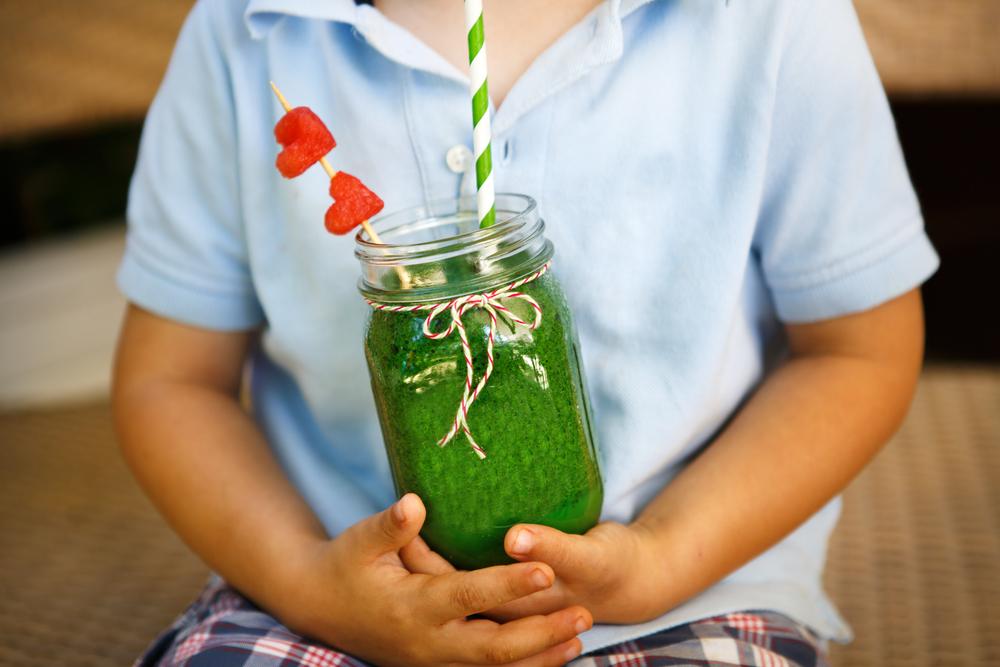 verstopte groente: smoothie