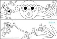verjaardagskroon aap