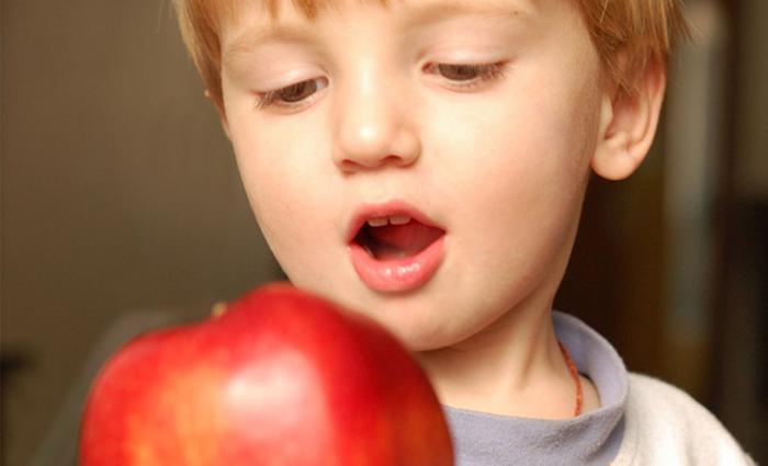 Gezonde tussendoortjes: appel