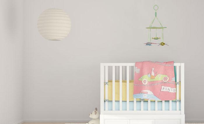 babykamer of kinderkamer van Pinterest