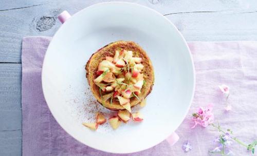 Ik kook gezond voor mijn kind wentelteefjes met appel