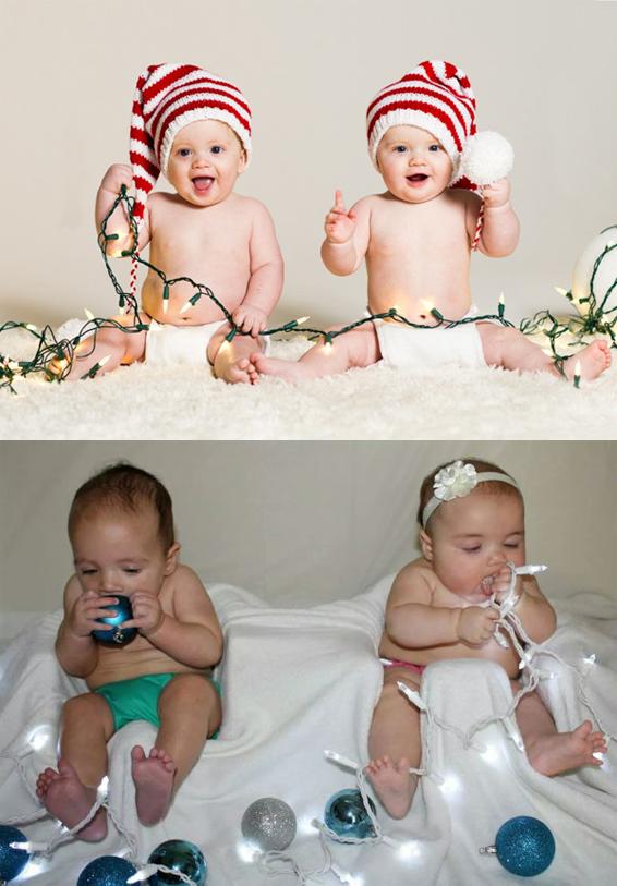 baby's-met-kerstaccessoires