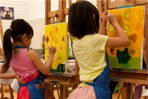 Speuren en schilderen Van Gogh museum
