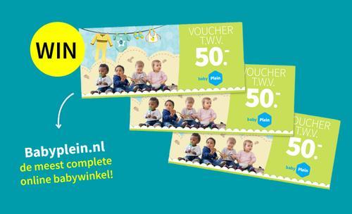 Win cadeaubon van Babyplein.nl