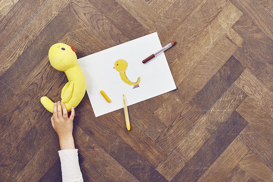 IKEA maakt knuffels van kindertekeningen