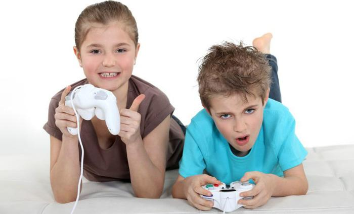 Enfants et jeux vidéos